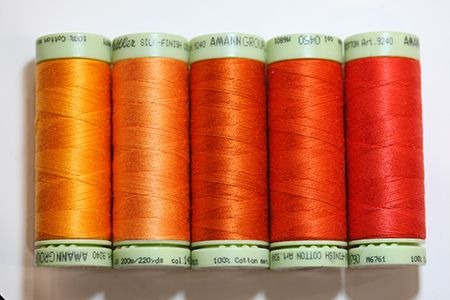 Thread Pack #13-Y Orange U Sewing
