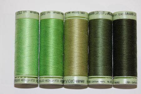 Thread Pack #2-Green, Green, The Dancing Machine