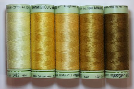 Thread Pack #37 - Mellow Yellow