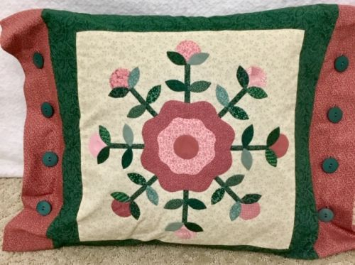 Rose of Sharon Pillow