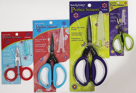 Set of 4 scissors