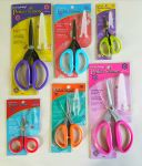 Set of six scissors