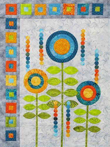 Circles Squared-Machine Applique