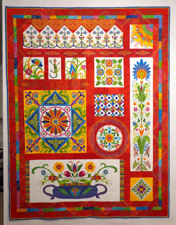 Fiesta Mexico-New Quilt Â« Karen Kay Buckley Blog : karen quilt - Adamdwight.com