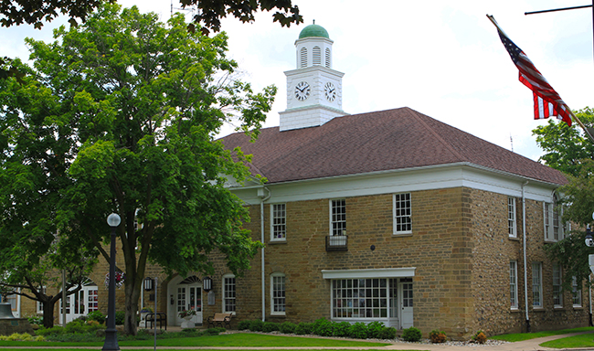 Marshall City Hall Stone barn blog